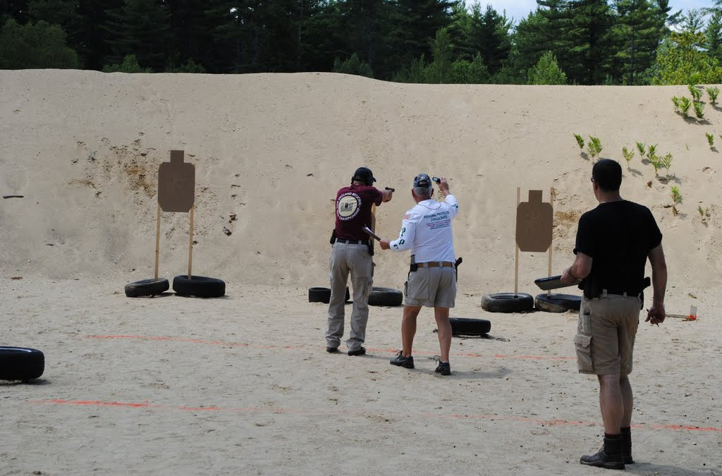 Understanding the differences between competition and personal protection training